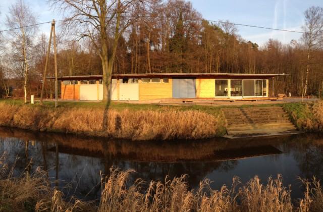 Bootshaus im Januar 2015